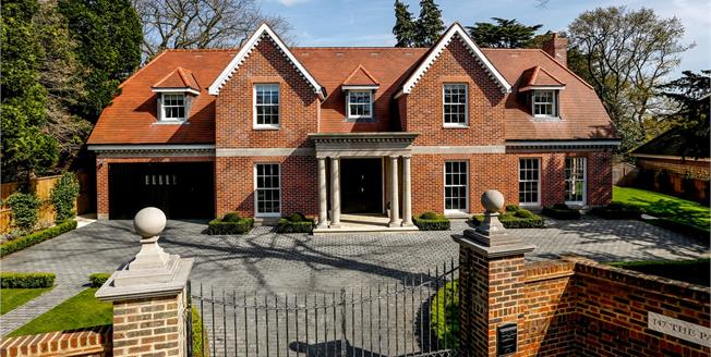 Guide Price £3,350,000, 5 Bedroom Detached House For Sale in Kingston upon Thames, KT2