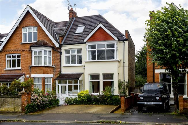 Guide Price £1,750,000, 5 Bedroom Semi Detached House For Sale in London, SW19