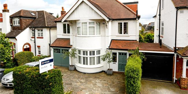 Guide Price £2,150,000, 6 Bedroom Detached House For Sale in London, SW19