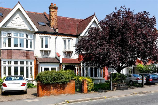 Guide Price £995,000, 4 Bedroom Semi Detached House For Sale in London, SW20