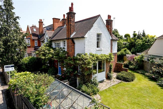 Guide Price £2,795,000, 4 Bedroom Detached House For Sale in London, SW19
