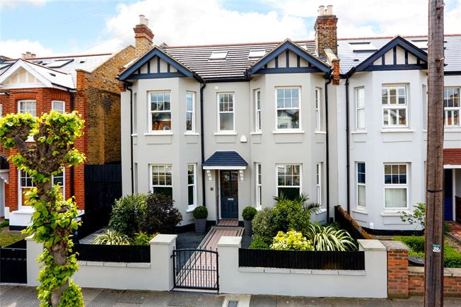 Guide Price £1,575,000, 5 Bedroom Semi Detached House For Sale in London, SW19