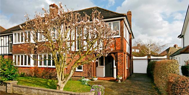 Guide Price £1,200,000, 4 Bedroom Semi Detached House For Sale in London, SW20