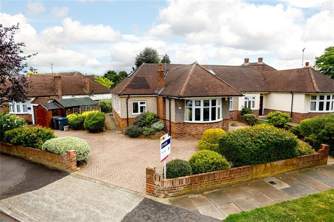 Offers in the region of £795,000, 4 Bedroom Bungalow For Sale in New Malden, KT3