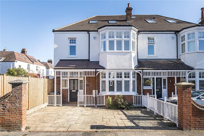 Guide Price £1,695,000, 4 Bedroom Semi Detached House For Sale in London, SW20