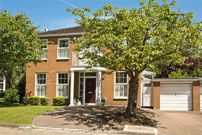 Asking Price £1,445,000, 4 Bedroom Detached House For Sale in New Malden, KT3
