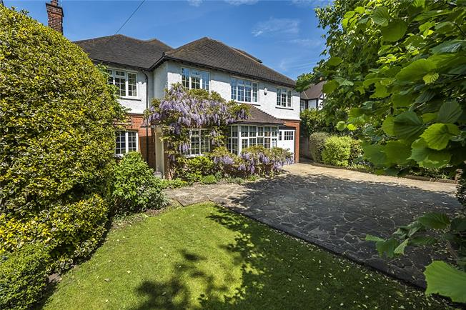 Guide Price £1,890,000, 5 Bedroom Detached House For Sale in London, SW20