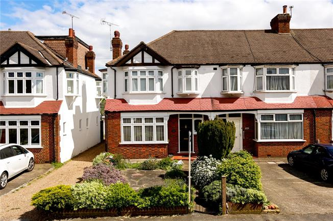 Guide Price £580,000, 3 Bedroom End of Terrace House For Sale in London, SW20