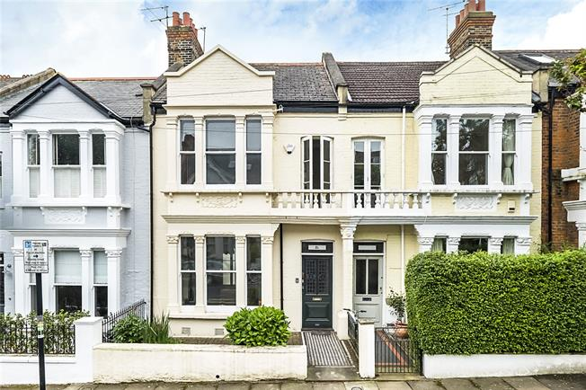 Guide Price £1,200,000, 4 Bedroom Terraced House For Sale in London, SW19