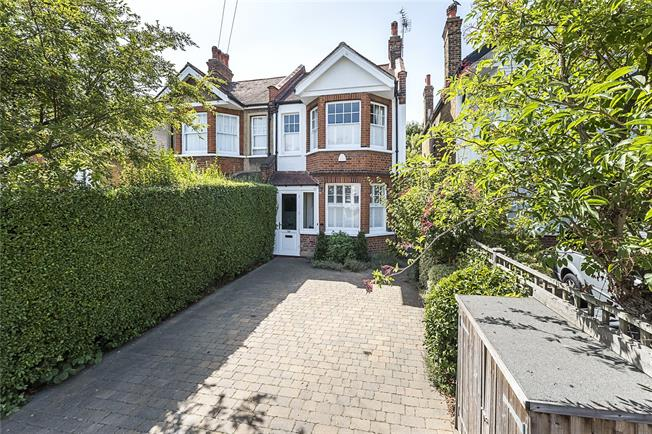 Guide Price £1,275,000, 4 Bedroom Semi Detached House For Sale in London, SW20