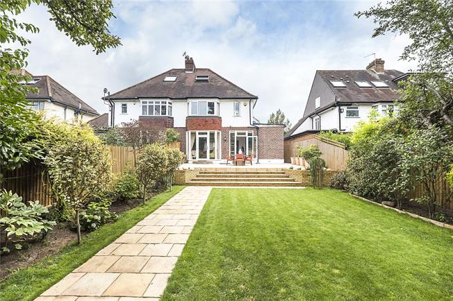 Asking Price £1,325,000, 3 Bedroom Semi Detached House For Sale in London, SW20