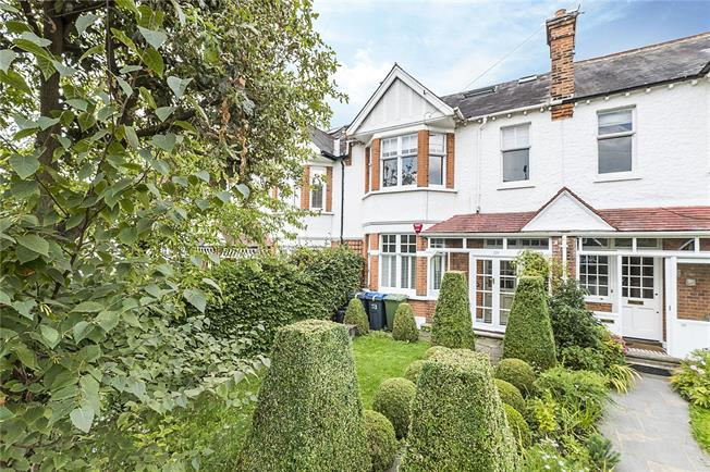 Guide Price £1,295,000, 5 Bedroom Terraced House For Sale in London, SW20