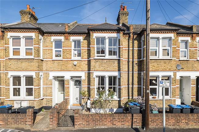 Guide Price £825,000, 3 Bedroom Terraced House For Sale in London, SW19