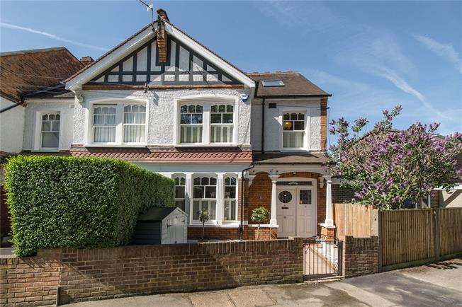 Guide Price £1,299,950, 5 Bedroom Semi Detached House For Sale in London, SW20