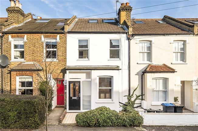 Guide Price £845,000, 3 Bedroom Terraced House For Sale in London, SW19