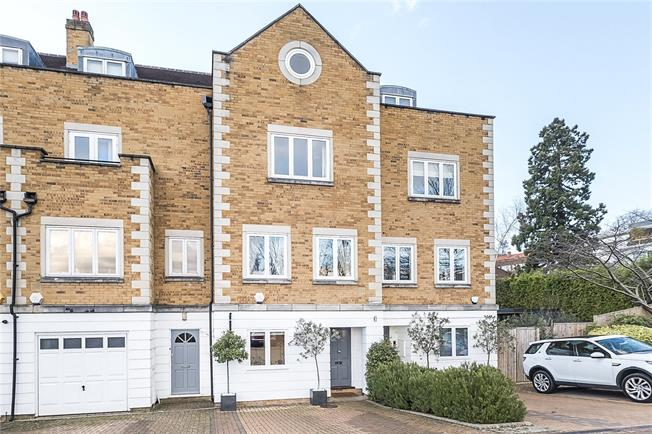 Guide Price £1,900,000, 5 Bedroom Terraced House For Sale in London, SW19