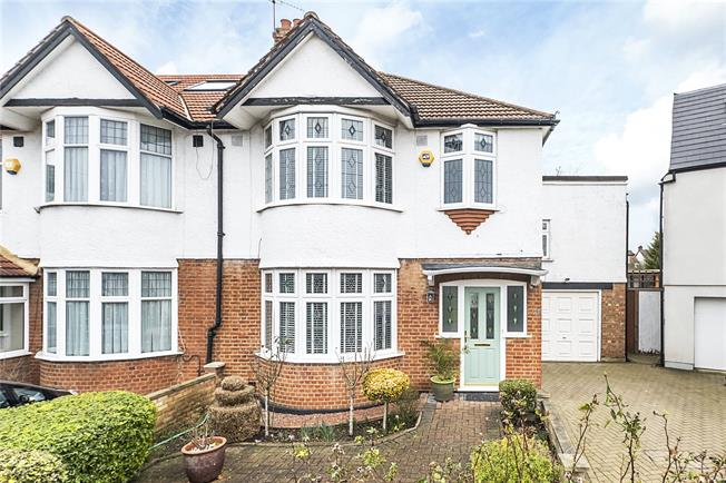 Offers in excess of £950,000, 5 Bedroom Semi Detached House For Sale in London, SW20