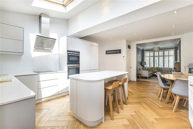 Guide Price £720,000, 3 Bedroom Terraced House For Sale in London, SW20