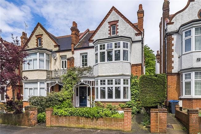Asking Price £1,575,000, 4 Bedroom Semi Detached House For Sale in London, SW20