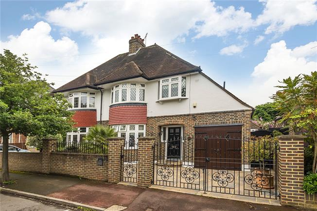 Offers in excess of £1,000,000, 3 Bedroom Semi Detached House For Sale in London, SW20