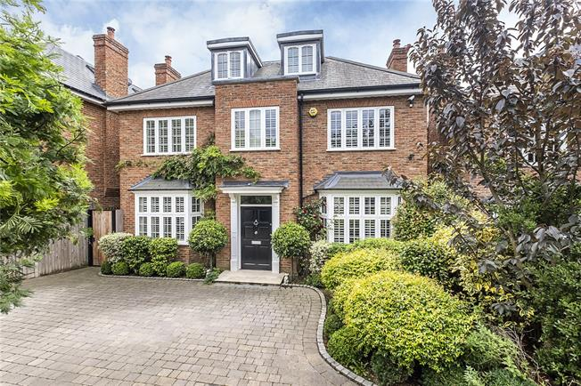 Offers in excess of £3,000,000, 5 Bedroom Detached House For Sale in London, SW20