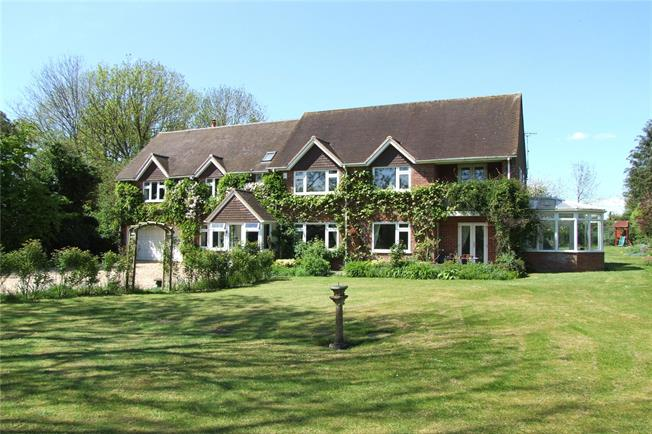 Guide Price £1,095,000, 7 Bedroom Detached House For Sale in Goodworth Clatford, SP11