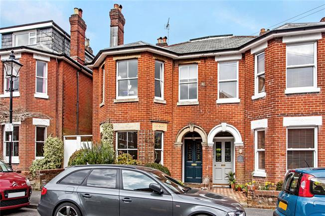 Guide Price £995,000, 4 Bedroom Semi Detached House For Sale in Hampshire, SO23