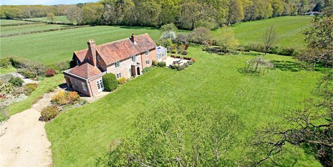 Guide Price £1,150,000, 5 Bedroom Detached House For Sale in Newtown, PO17