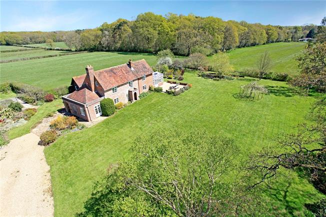 Guide Price £1,300,000, 5 Bedroom Detached House For Sale in Newtown, PO17