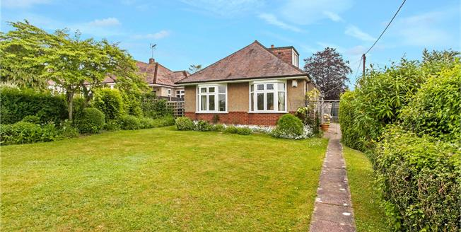 Guide Price £525,000, 3 Bedroom Bungalow For Sale in Winchester, SO22