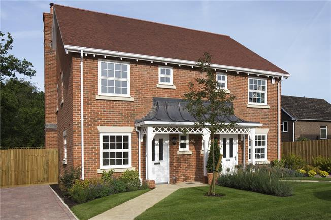 Guide Price £350,000, 2 Bedroom Semi Detached House For Sale in Winchester, Hampshire, SO21