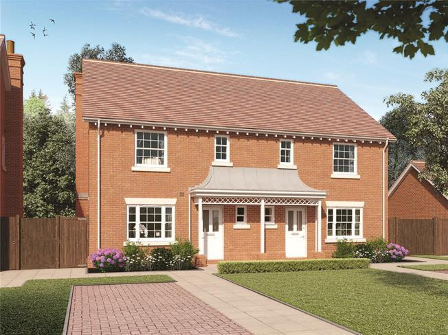 Guide Price £435,000, 3 Bedroom Semi Detached House For Sale in Winchester, Hampshire, SO21