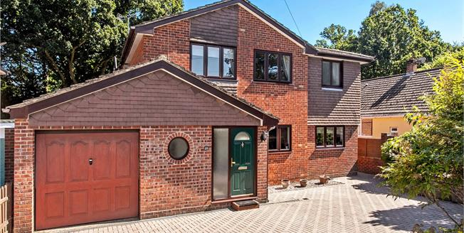 Guide Price £595,000, 5 Bedroom Detached House For Sale in Hampshire, SO53