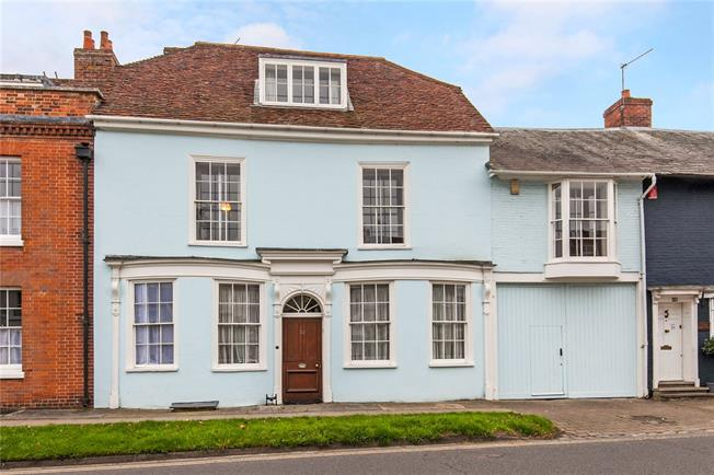 Guide Price £1,495,000, 6 Bedroom Terraced House For Sale in Hampshire, SO24