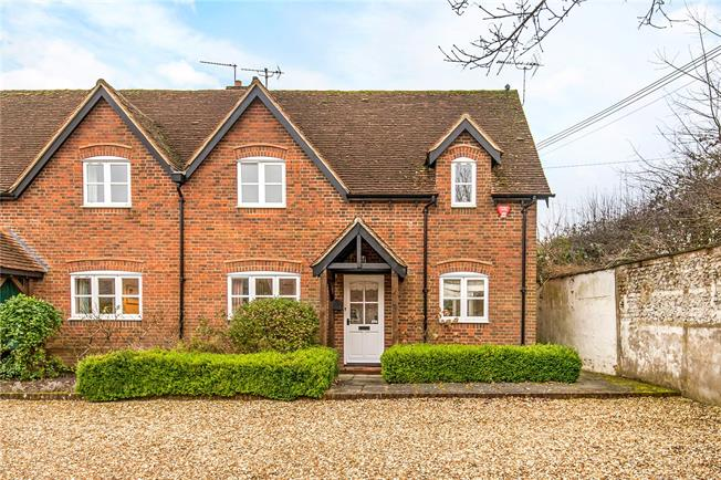 Guide Price £650,000, 3 Bedroom Semi Detached House For Sale in Winchester, Hampshire, SO21