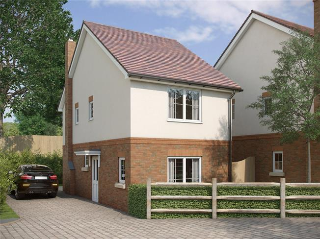 Guide Price £395,000, 2 Bedroom Detached House For Sale in Corhampton, SO32