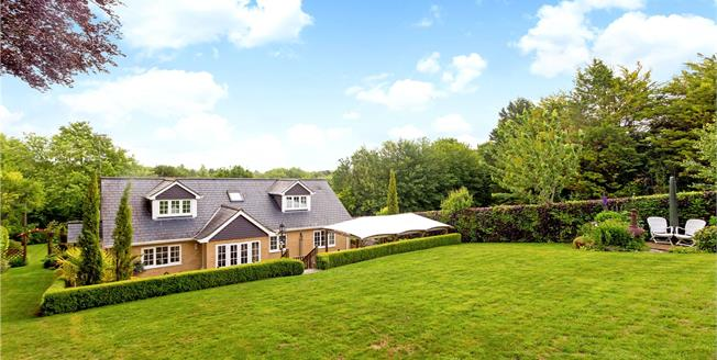 Guide Price £1,195,000, 5 Bedroom Detached House For Sale in Winchester, Hampshire, SO23