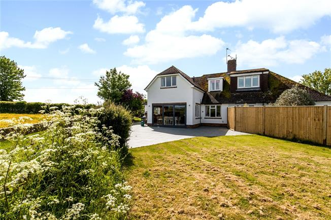 Guide Price £599,950, 3 Bedroom Semi Detached House For Sale in Winchester, Hampshire, SO21