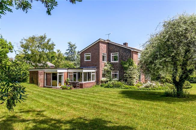 Offers in excess of £1,000,000, 4 Bedroom Detached House For Sale in Winchester, Hampshire, SO21