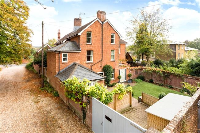 Offers in excess of £850,000, 4 Bedroom Semi Detached House For Sale in Winchester, SO23