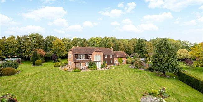 Guide Price £1,300,000, 4 Bedroom Detached House For Sale in Goodworth Clatford, SP11