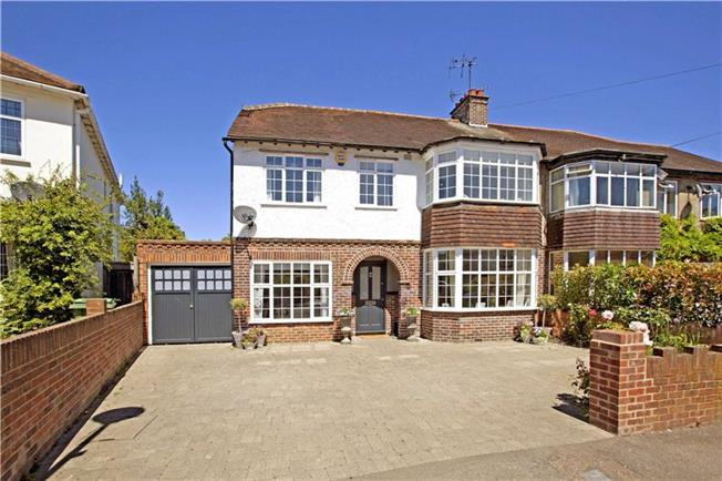Guide Price £850,000, 4 Bedroom Semi Detached House For Sale in Berkshire, SL4