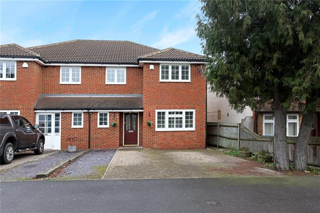 Guide Price £675,000, 4 Bedroom Semi Detached House For Sale in Berkshire, SL4