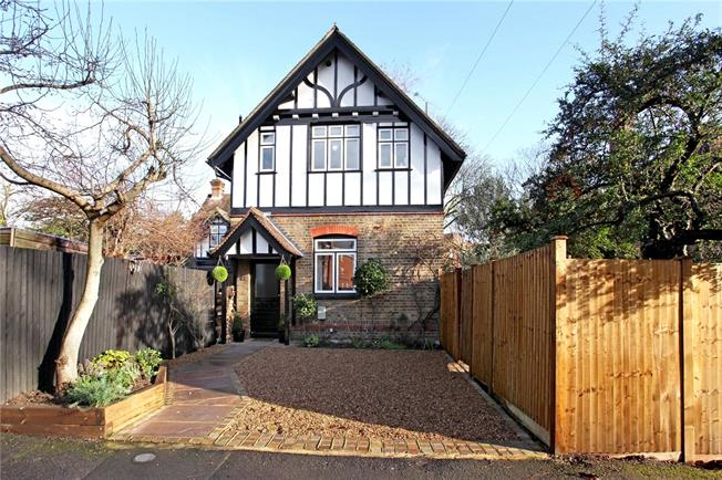 Guide Price £825,000, 3 Bedroom Semi Detached House For Sale in Windsor, SL4