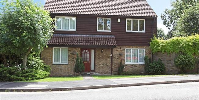 Guide Price £650,000, 4 Bedroom Detached House For Sale in The Briars, SL3