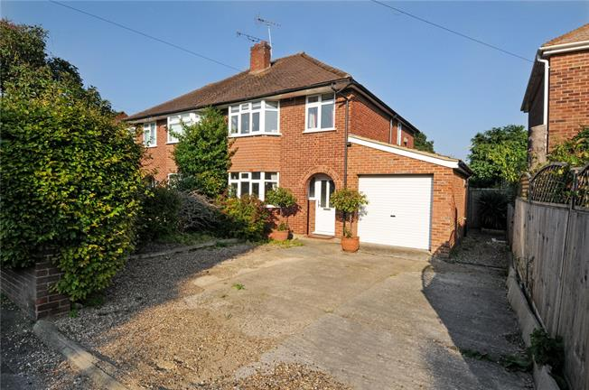 Guide Price £595,000, 3 Bedroom Semi Detached House For Sale in Windsor, SL4