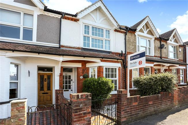 Guide Price £650,000, 4 Bedroom Terraced House For Sale in Windsor, SL4