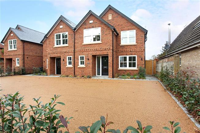 Guide Price £795,000, 4 Bedroom Semi Detached House For Sale in Windsor, SL4