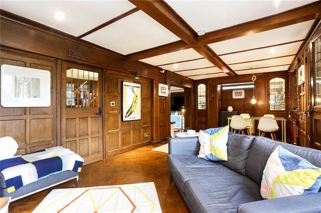 Guide Price £619,000, 4 Bedroom Terraced House For Sale in Old Windsor, Berkshire, SL4
