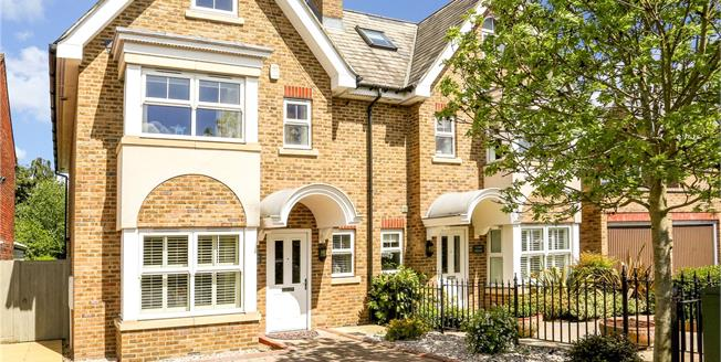 Guide Price £895,000, 4 Bedroom Semi Detached House For Sale in Windsor, SL4